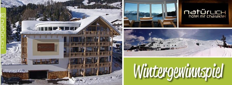 Contest winter results - Natürlich. Hotel with character in Fiss, Tyrol