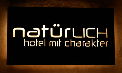 Hotel NATÜRlich in Fiss, Tyrol - the name obliges.