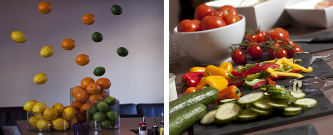 Food in Hotel Natürlich in Fiss - healthy and colorful - Family holidays in Austria.