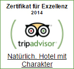 Tripadvisor Award of Exzellenz 2014