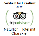 Tripadvisor Award of Exzellenz 2015