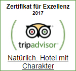 Tripadvisor Award of Exzellenz 2017