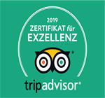 Tripadvisor Award of Exzellenz 2019