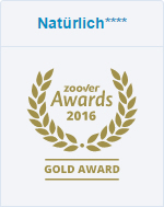 Zoover Award Gold 2016