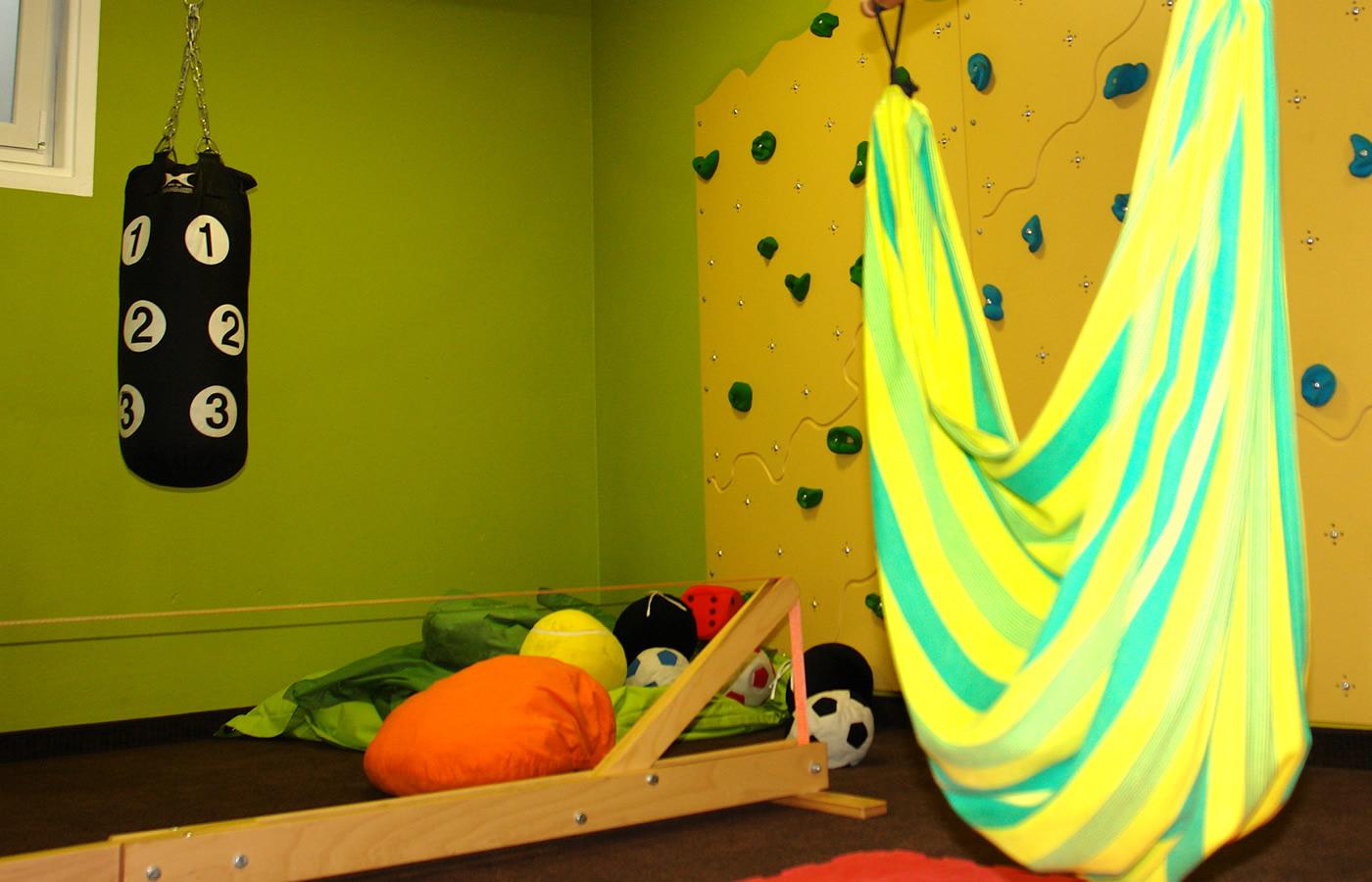 Hotel Natürlich Kinder-Familien-Spielzimmer in Fiss, Tirol.
