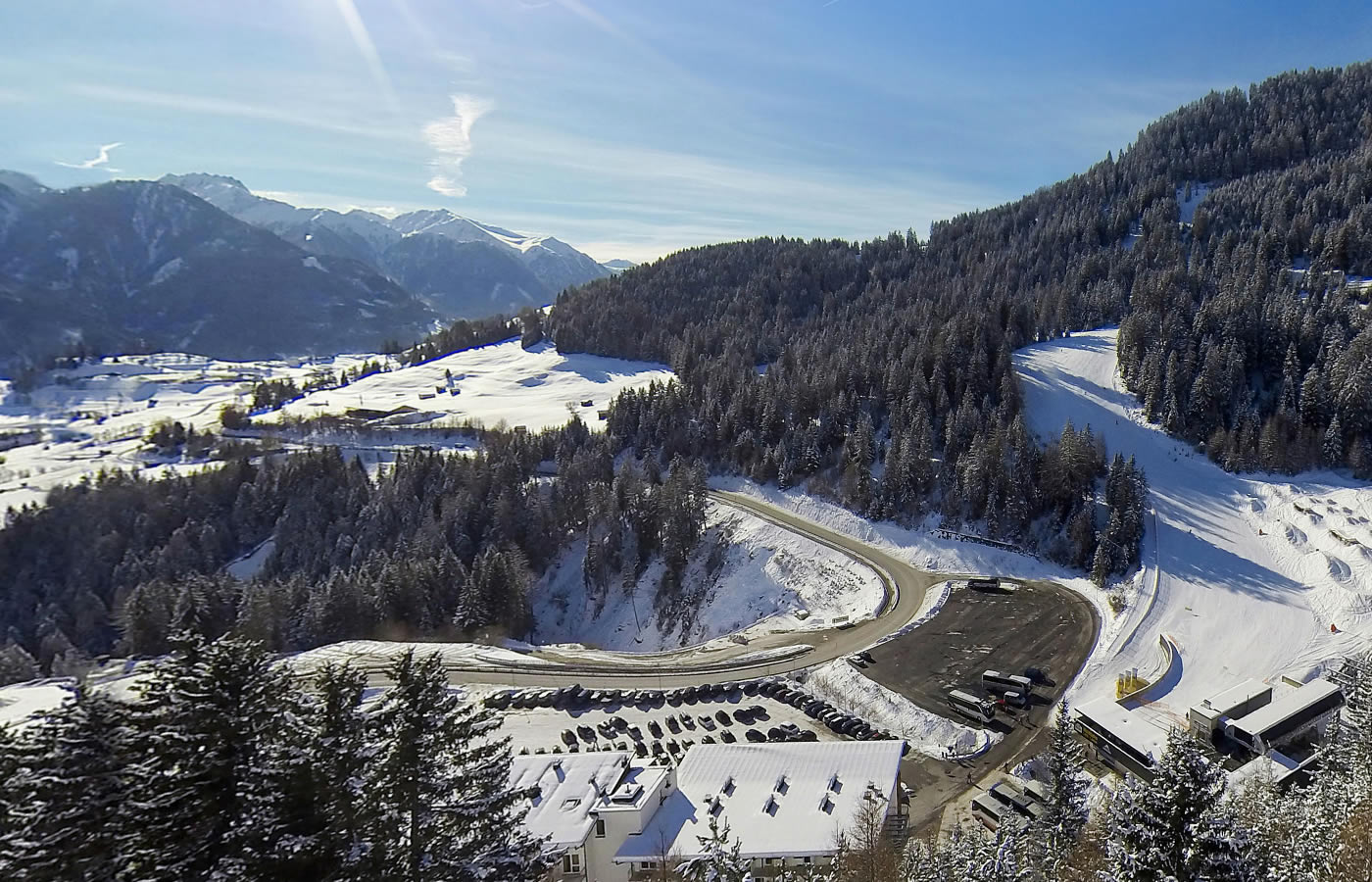 Weitblicke im Hotel Natürlich in Tirol - Österreich.