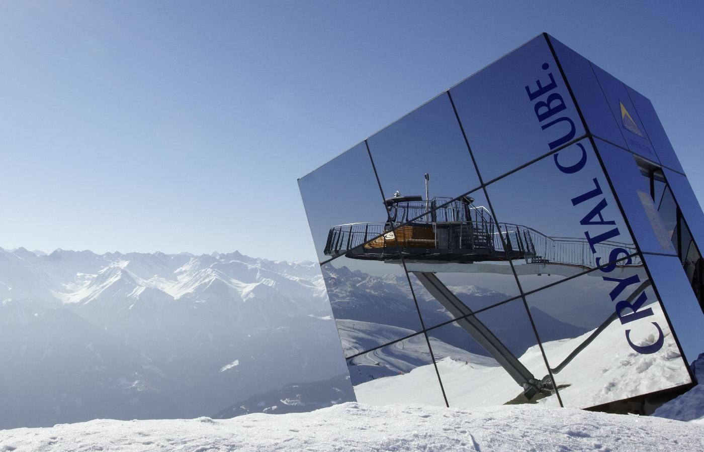 Crystal Cube in Fiss in Tirol. Ferien in Tirol.