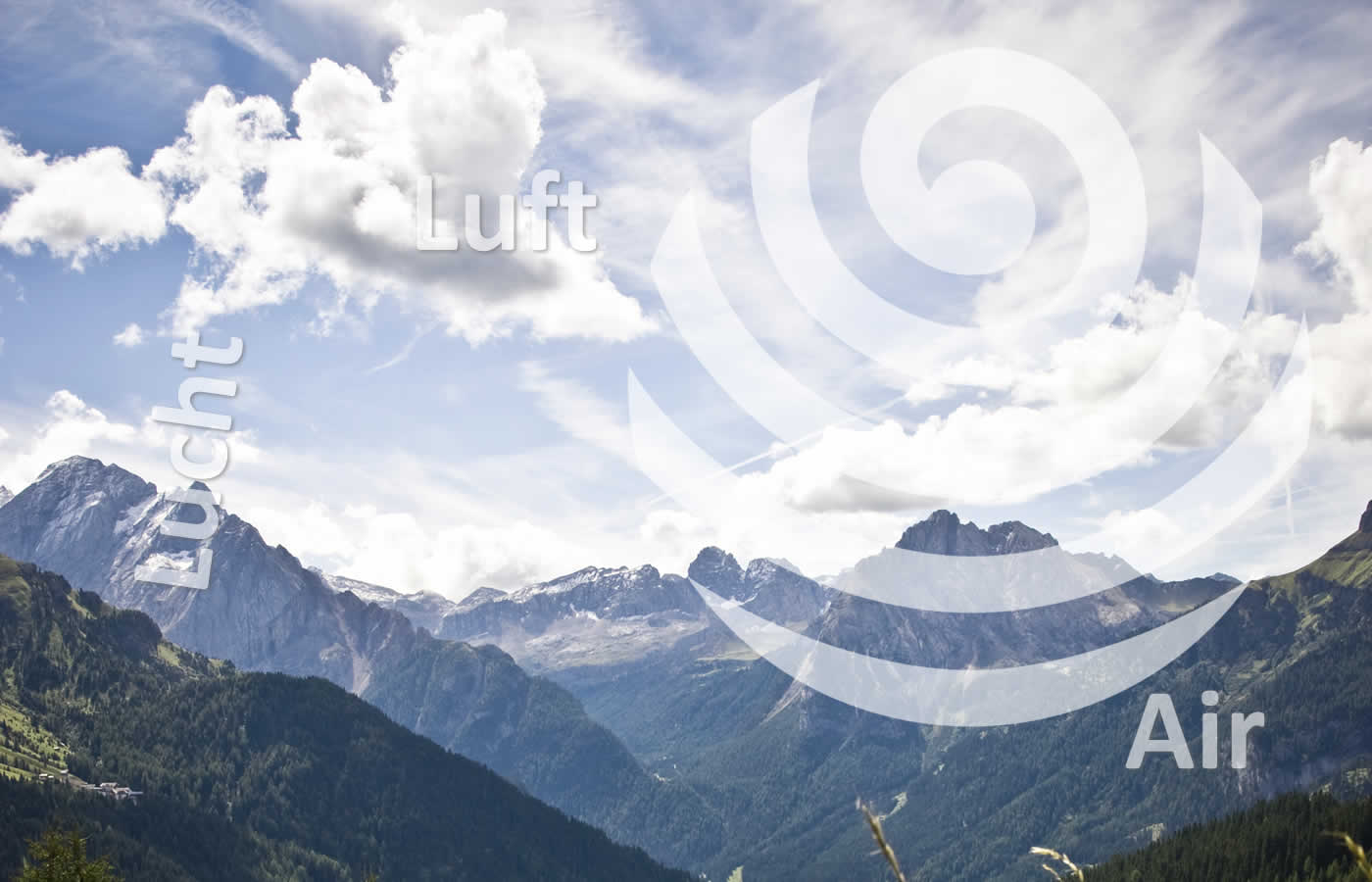 Element Luft im Hotel Natürlich in Fiss, Tirol.