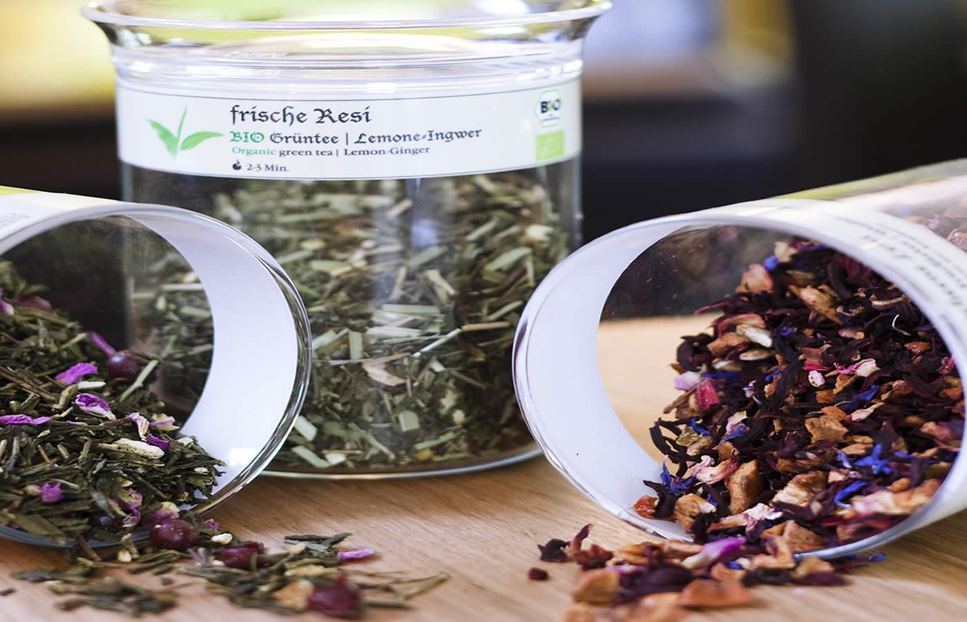 Biologische offene Teesorten - Hotel in Fiss - NATÜRlich.