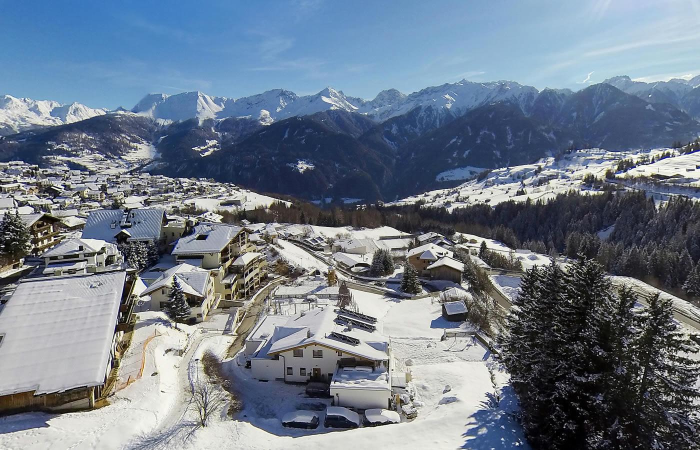 Winter-Webcam von Natürlich. Hotel in Fiss, Tirol.