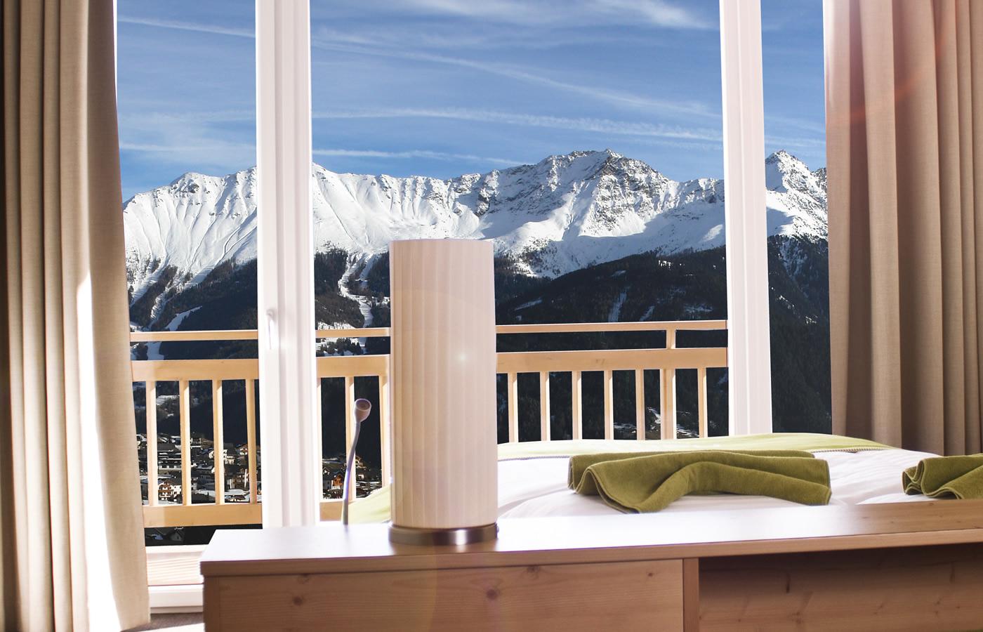 Aussicht Komfortzimmer II im Winter - Natürlich. Hotel mit Charakter.